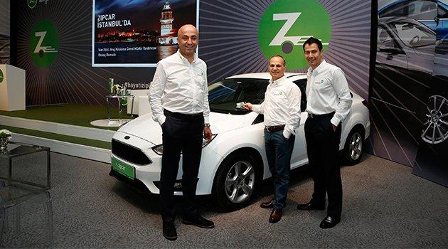 Zipcar Otokoç ile Geldi
