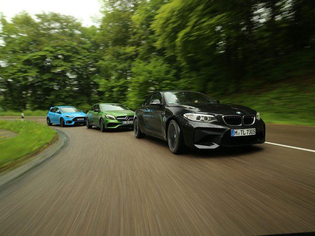Karşılaştırma – Ford Focus RS, BMW M2, Mercedes AMG A45
