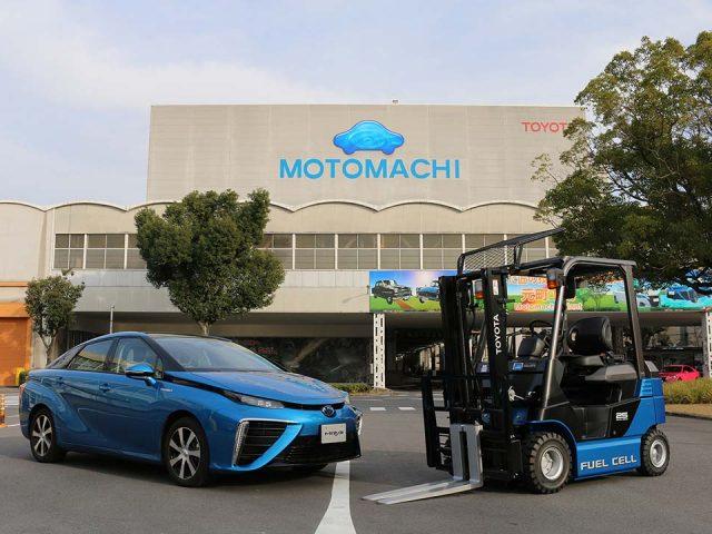Toyota, hidrojen yakıt hücreli forklift kullanmaya başladı