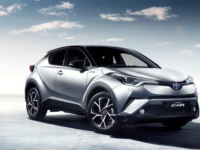 Yeni Toyota C-HR'a Euro NCAP'ten 5 yıldız