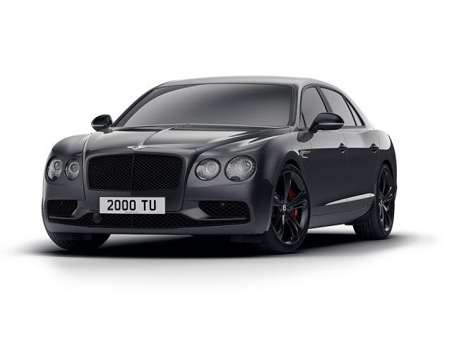 Bentley Flying Spur V8 Black Edition tanıtıldı