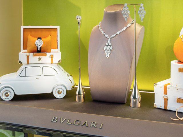 Fiat 500 mücevherlerle donatıldı