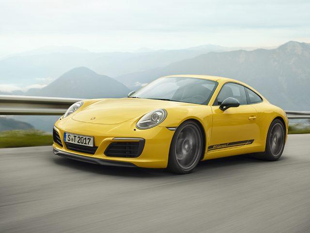 "Porsche 911 ailesinin yeni üyesi ""Carrera T"""