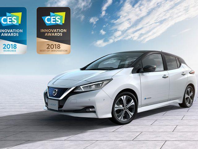 Yeni Nissan Leaf'e prestijli ödül