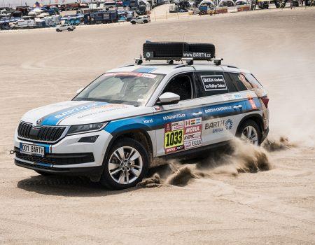 Kodiaq, Dakar Rallisi'ni tamamlayan ilk Skoda oldu