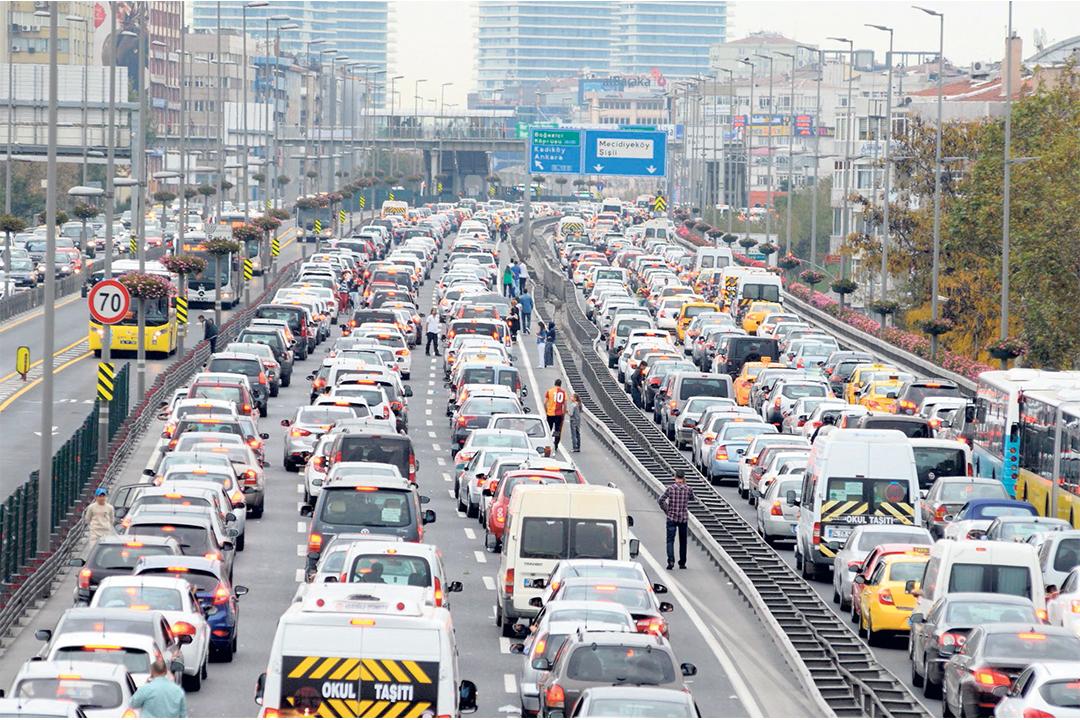 Trafiğe kayıtlı araç sayısı yüzde 5.4 arttı