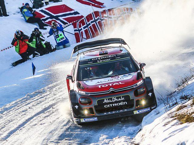 Citroen C3 WRC İsveç Rallisi'ne hazır
