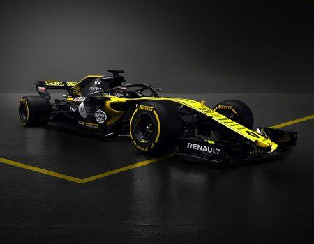 Renault Sport Formula 1 Takımı 2018'de yarışacağı yeni aracını tanıttı