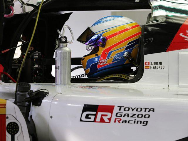 Efsane pilot Fernando Alonso Toyota'da