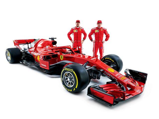 Ferrari, F1'de yarışacağı yeni otomobili gün yüzüne çıkardı