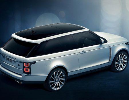 İki kapılı Range Rover Cenevre'de