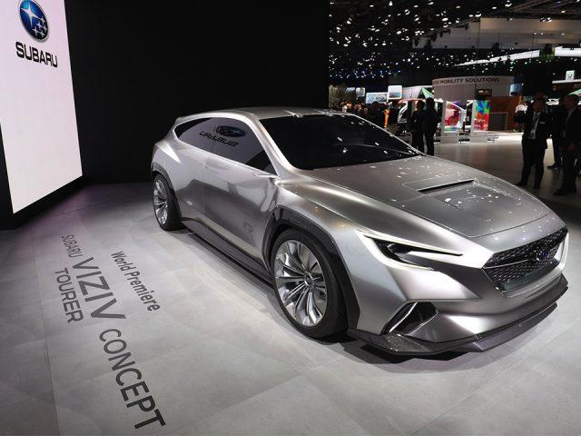 Subaru'nun yeni konsepti ilk kez Cenevre'de sergilendi