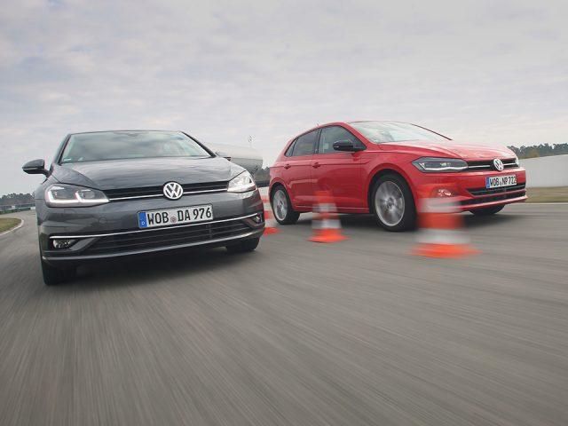 Karşılaştırma – Volkswagen Polo, Volkswagen Golf