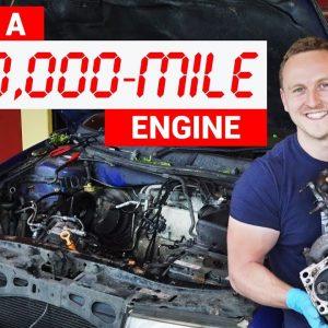 644 Bin kilometre yapan bir aracın motoru nasıl görünür?