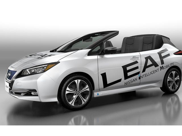Nissan, üstü açılır Leaf'i tanıttı