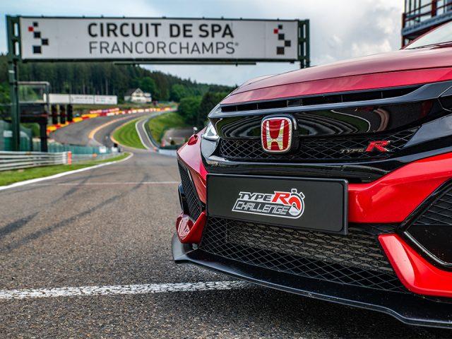 Honda Civic Type R  Belçika'da da pist rekoru kırdı