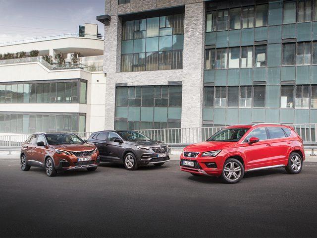 Karşılaştırma – Opel Grandland X, Seat Ateca, Peugeot 3008