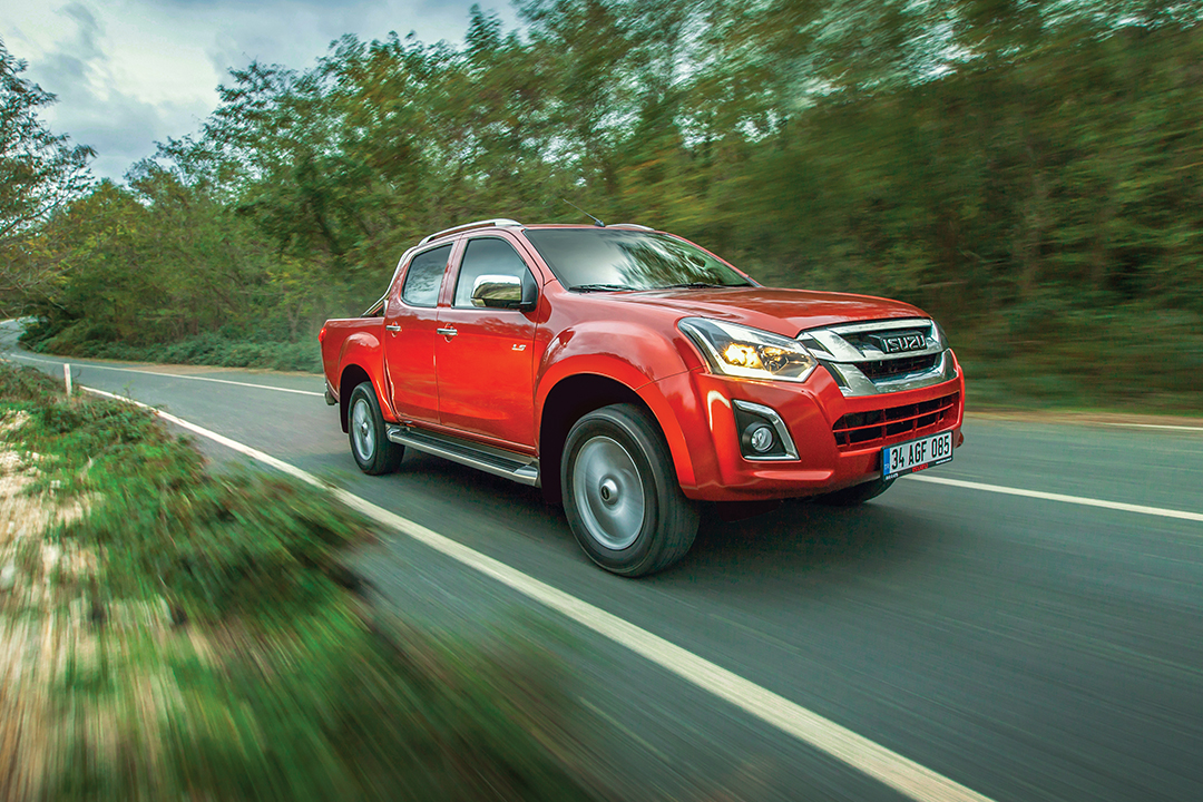 Test – Isuzu D-Max 4×4 V-Cross 6A/T