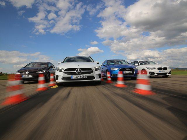 Karşılaştırma – Audi A3, BMW 1 Serisi, Mercedes A-Serisi, VW Golf