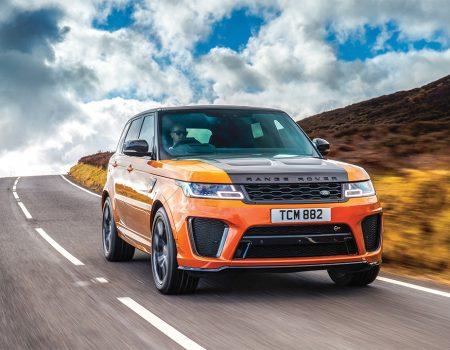 Test – Range Rover Sport SVR
