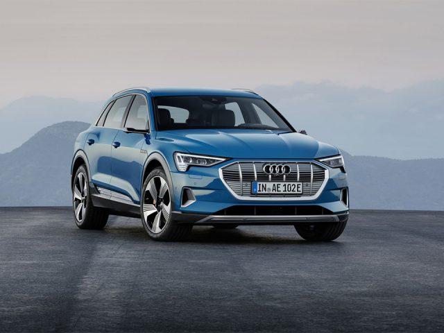 Audi'nin ilk elektrikli SUV'u sahneye çıktı