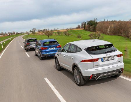 Karşılaştırma – BMW X1, Jaguar E-Pace, VW Tiguan