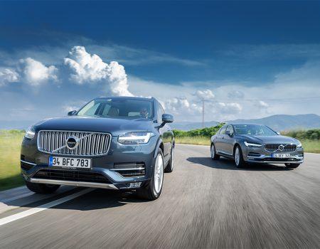 Karşılaştırma – Volvo S90, Volvo XC90