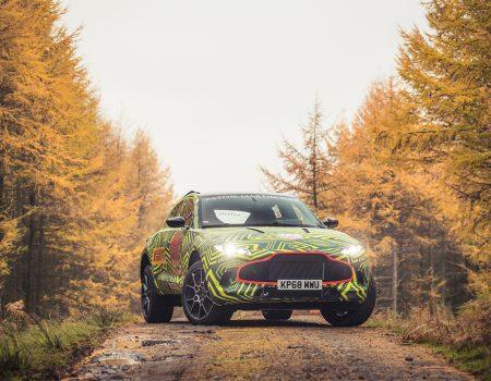 Aston Martin'in ilk SUV'u DBX yollara çıkmaya hazırlanıyor
