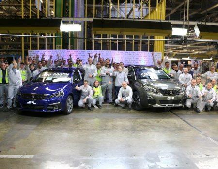 Peugeot 1 milyonuncu 308'i üretti