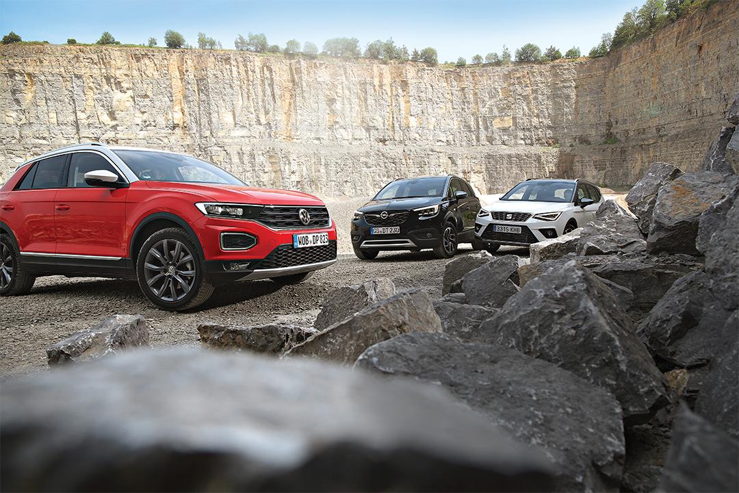 Karşılaştırma – Opel Crossland X, Seat Arona, VW T-Roc