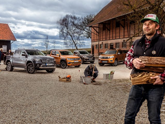 Karşılaştırma – Mercedes X-Serisi, Nissan Navara, Renault Alaskan, VW Amarok