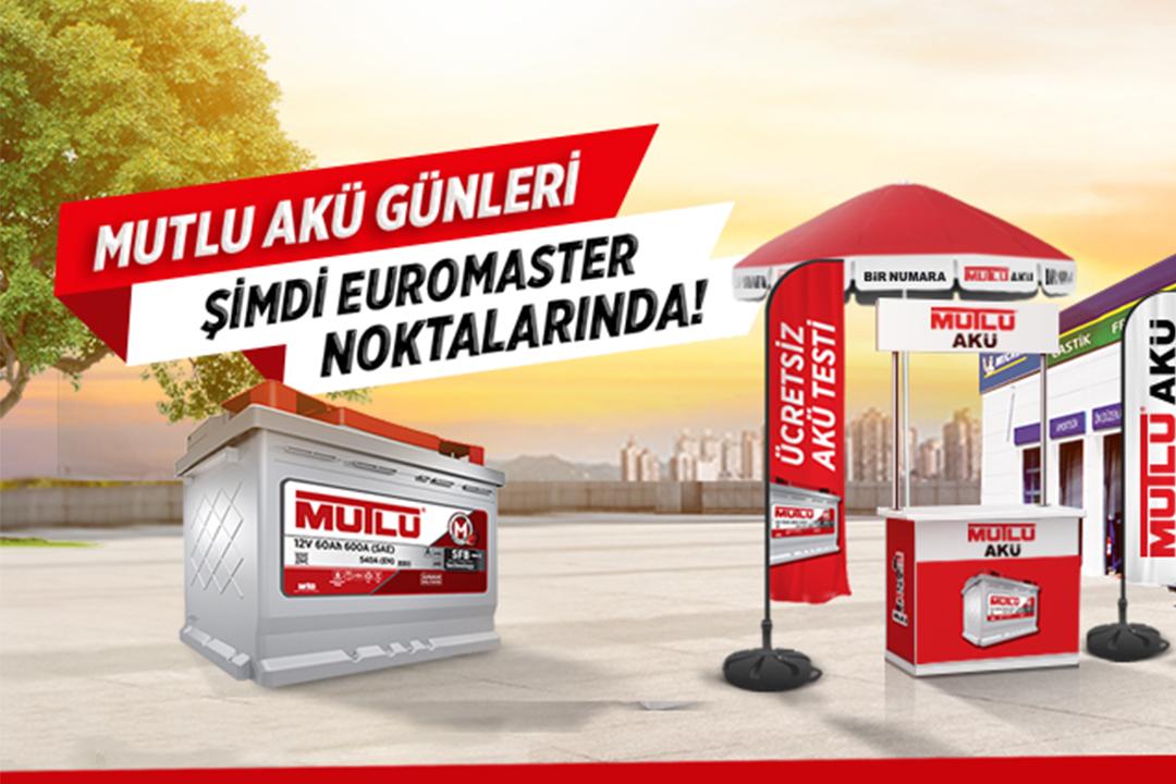 Euromaster ve Mutlu Akü'den ortak kampanya