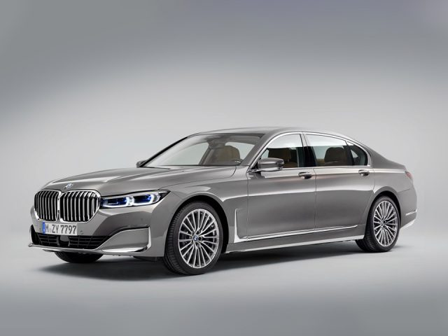 İşte yenilenen BMW 7 Serisi…