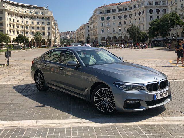 BMW 520i ile Selanik'e gittik