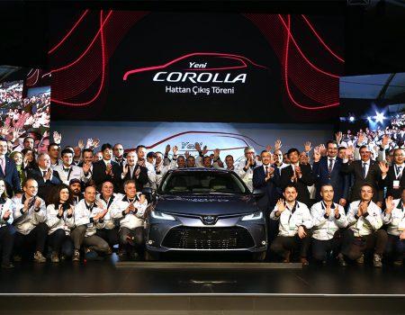 Yeni Toyota Corolla üretim hattından indi