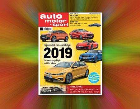 auto motor & sport Ocak sayısı yayında