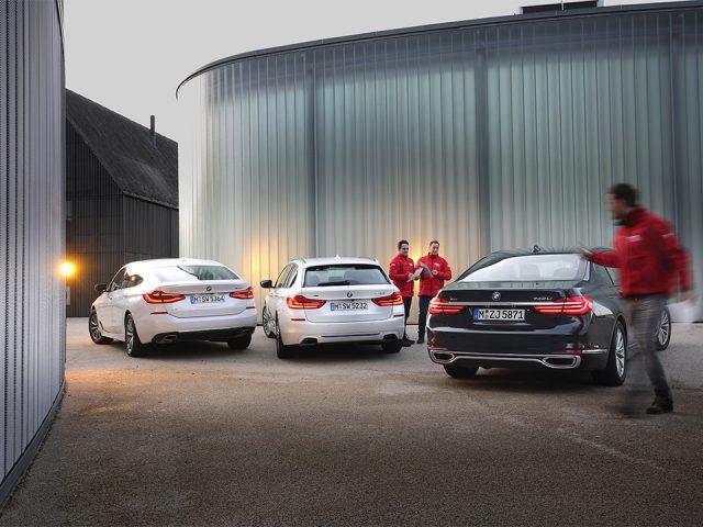 Karşılaştırma – BMW 5 Serisi, 6 Serisi, 7 Serisi
