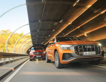 Karşılaştırma – Audi Q8, Mercedes GLE Coupe