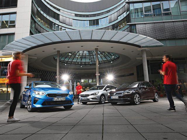 Karşılaştırma – Kia Ceed, Opel Astra, VW Golf