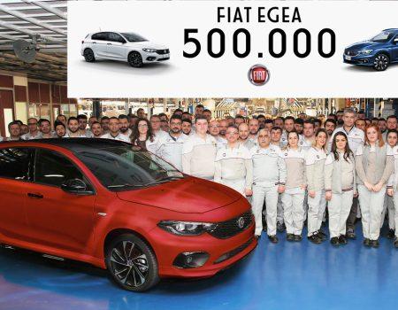 Fiat Egea üretimi 500.000 adede ulaştı