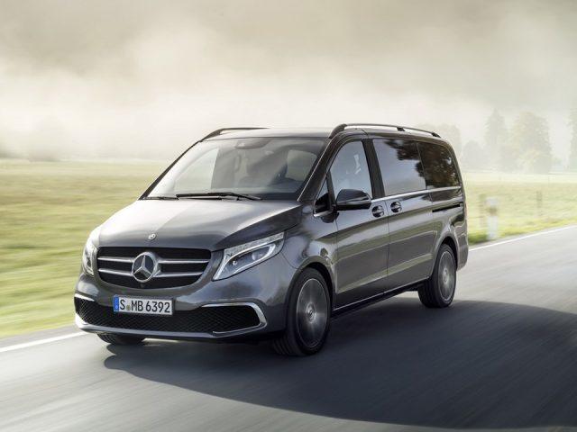 Mercedes V-Serisi yenilendi