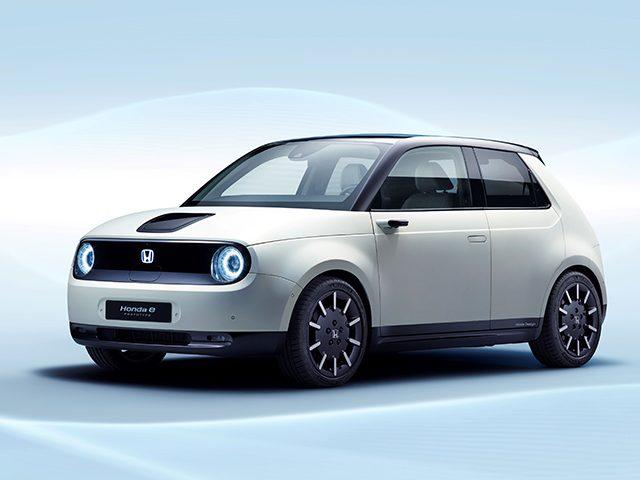 Honda tam elektrikli şehir otomobilini tanıttı