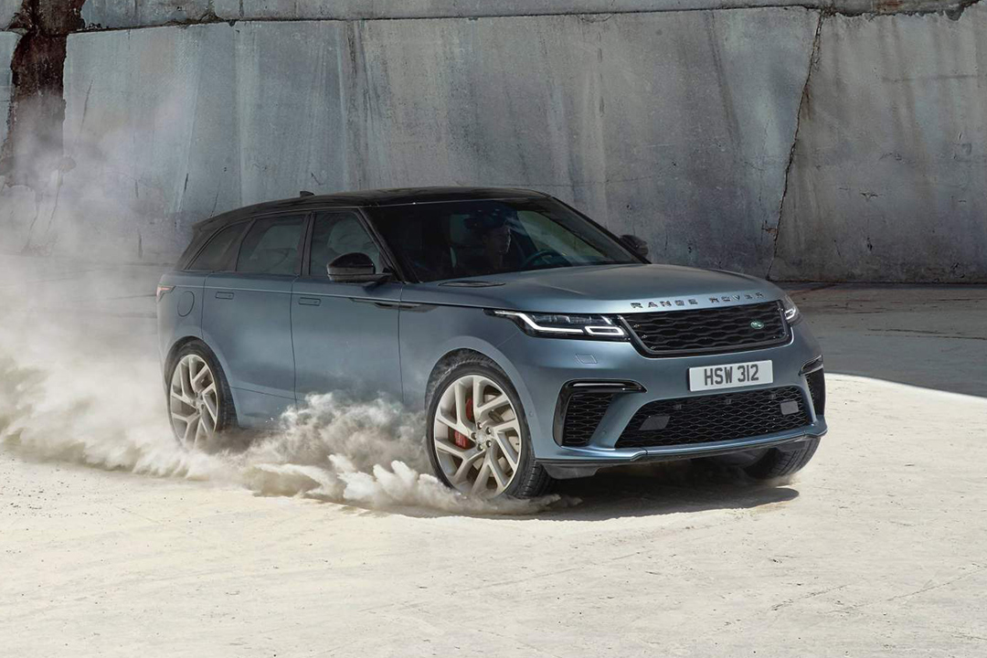 550 HP'lik Range Rover Velar tanıtıldı