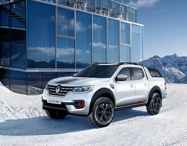 Renault'dan yeni bir özel seri: Alaskan Ice