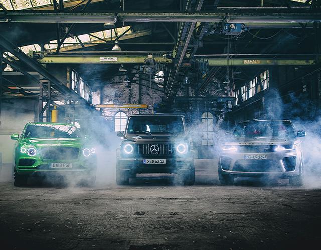 Karşılaştırma – Bentley Bentayga, Mercedes AMG G 63, Range Rover Sport SVR