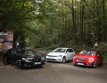 Karşılaştırma – Honda Civic HB, Renault Megane HB, VW Golf