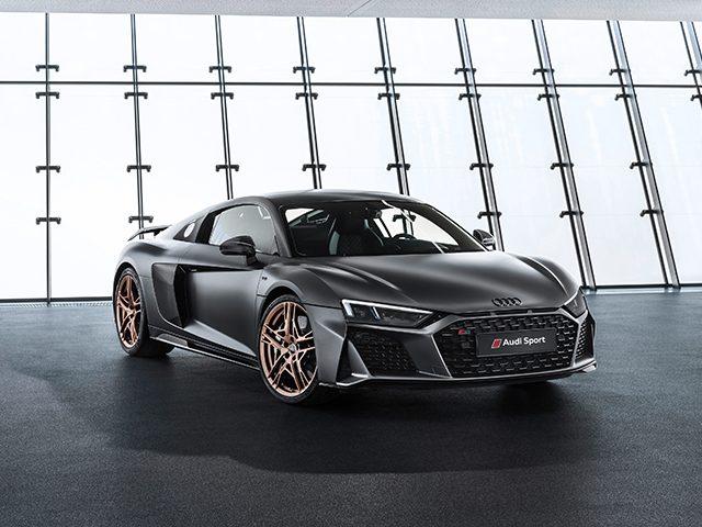 Audi'den 10'uncu yıla özel R8 serisi
