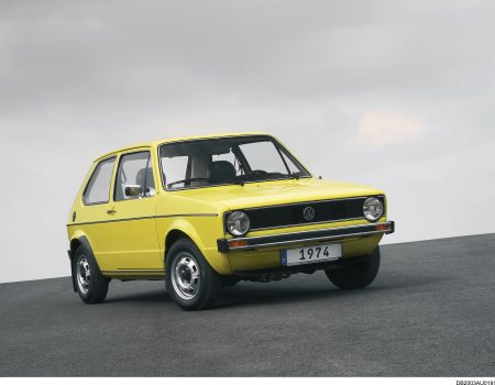 Volkswagen'in efsane modeli Golf 45 yaşında