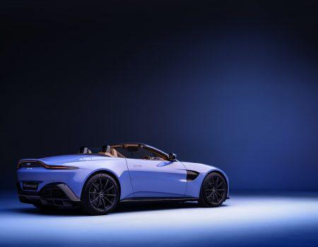 Aston Martin Vantage Roadster örtüsünü kaldırdı