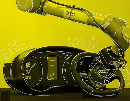 Audi ve Ericsson insan ve robotların  çalışabilmeleri için iş birliğine gitti